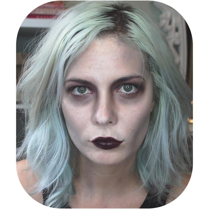 Halloween Makeup Part 1 Living Dead Girl | Fiercely Glamorous